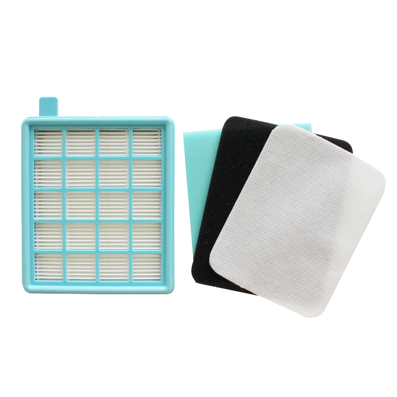 4PCS/Lot Dust HEPA Filters For Philips FC8470 FC8471 FC8472 FC8473 FC8474 FC8476 Robot Vacuum Cleaner Spare Parts Accessories