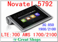 Desbloqueado AT & T Novatel MiFi 5792 Liberar 4G LTE WiFi router AWS 700/1700 Mobile Hotspot pk e5878 e5786 e5776 762 s ac782s ac790s