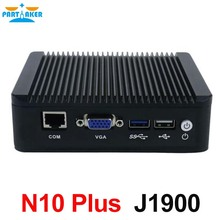 Small PC J1900 Quad Core Mini PC Mini Server With intel 4*Lan Support Linux Pfsense 3G/4G