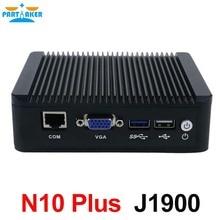 Малый PC J1900 4 ядра Мини-ПК мини-сервер с intel 4 * lan Поддержка Linux pfsense 3 г/4 г