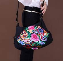 c2880ea2c483 2019 New National Women Embroidery Bag Embroidered Shoulder Messenger Bag  Handbag Vintage Hmong Ethnic Thai Indian Boho Bags