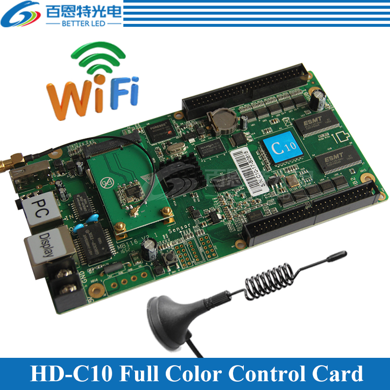 HD C10 WIFI USB 2 Ethernet Port Can be used as sending card Asynchronous Video Full