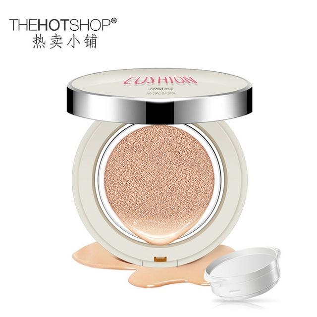 2 Colchón de Aire Crema BB de Color Blanco Bloque Defecto Hidratante Segregación Cosmética Facial Maquillaje Desnudo Impermeable Crema CC