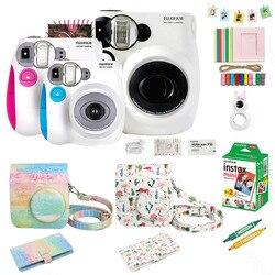 Fujifilm Instax Mini 7s Instant Film Camera & Accessories Set, Including Mini Film, Case, Photo Album, Selfie Close-up Lens ect.