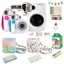 Fujifilm Instax מיני 7s מיידי סרט מצלמה & אביזרי סט, כולל מיני סרט, מקרה, אלבום תמונות, Selfie תקריב עדשת ect.
