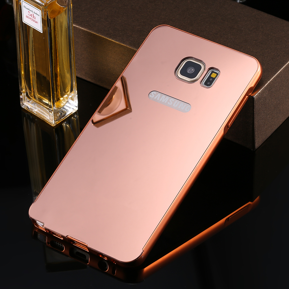 separation shoes 5b526 b2343 US $4.32 |For Samsung Note5 Luxury Metal Back Case With Ultra Slim Aluminum  Frame Glitter Mirror Cover For Samsung Galaxy Note 5 Wholesale on ...