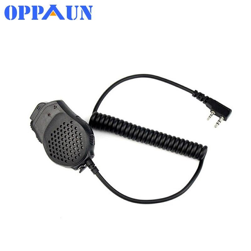 Baofeng Dual PTT Speaker Mic Microphone For Baofeng UV-82 Two Way Radio UV-82L UV-8D UV-89 UV-82HP Walkie Talkie Accessories