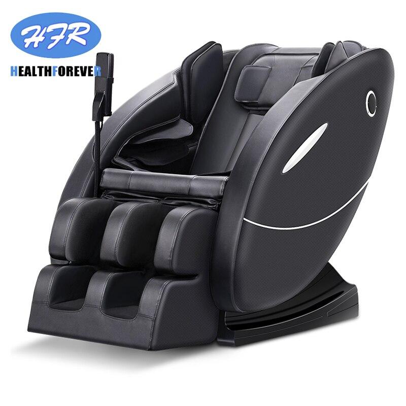 HFR-F02 alimentation prix utilisé 3d shiatsu pied pas cher électrique pleine fauteuil de massage corporel 4d gravité zéro chaise de massage
