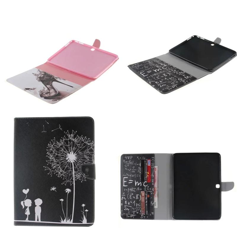 TX-DX For Samsung Galaxy Tab 4 10.1 T530 Folio Cute PU Leather Case Cover for Samsung Tab 4 SM-T530 T531 T535 10.1 Inch Tablet аккумулятор для samsung galaxy tab 4 10 1 sm t530