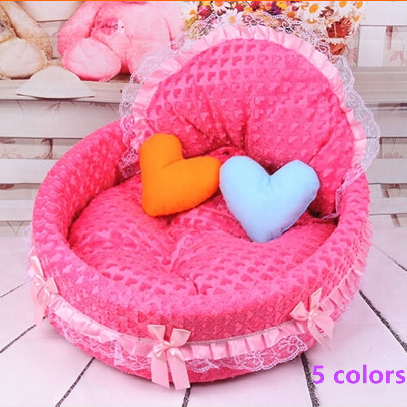 Free shipping 2015 Hot New luxury dog princess bed lovely cool dog pet cat beds sofa teddy house for dogs DB020