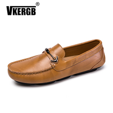 Men Casual Shoes Fashion Man Genuine Leather Brand Spring Summer Hot Sell Moccasins Mens Loafers Lightweight Driving