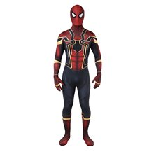 MENSWORE Superhero Homecoming 3D Print Zentai Lycra Full Bodysuit for Halloween