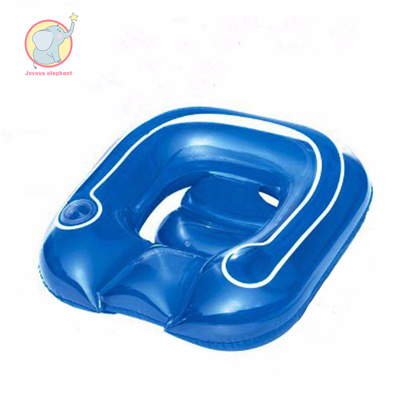 Inflatable Blue Lounge Chair Pool Float Raft Gonflable Swimming