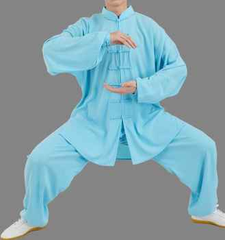 12colors high quality Martial arts clothes kung fu suits long-sleeve tai chi uniforms clothing sets for women&men