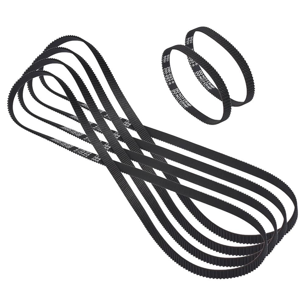 3D Printer Ultimaker 2 UM2 synchronous belt closed loop rubber 4*GT2-6mm Belt 610mm 2*200mm