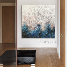 Modern abstract Colour Oil Painting Hand painted canvas Painting  the sitting room Decorative artwork 10