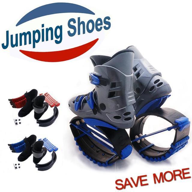 Kangoo Jumping Shoes Men Women Fitness Kangoo Jump Shoes Kids Jump Shoes  Outdoor Sports Bounce Kangoo 1db23f24190