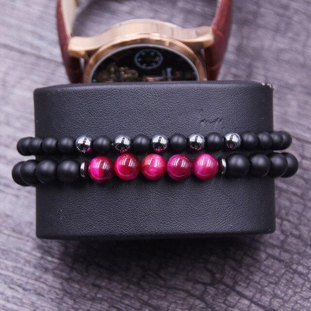 bracelet de distance rose