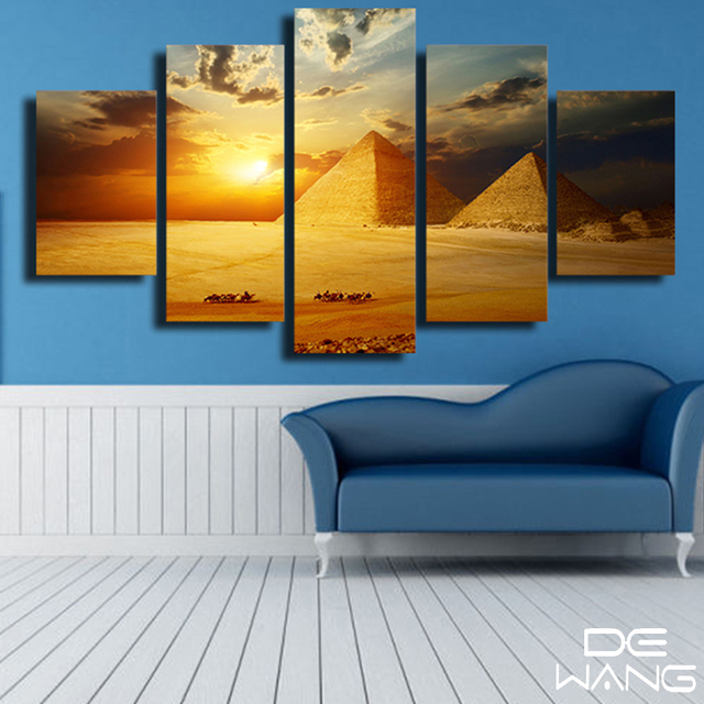 black pyramid posters and prints picture canvas free painting by