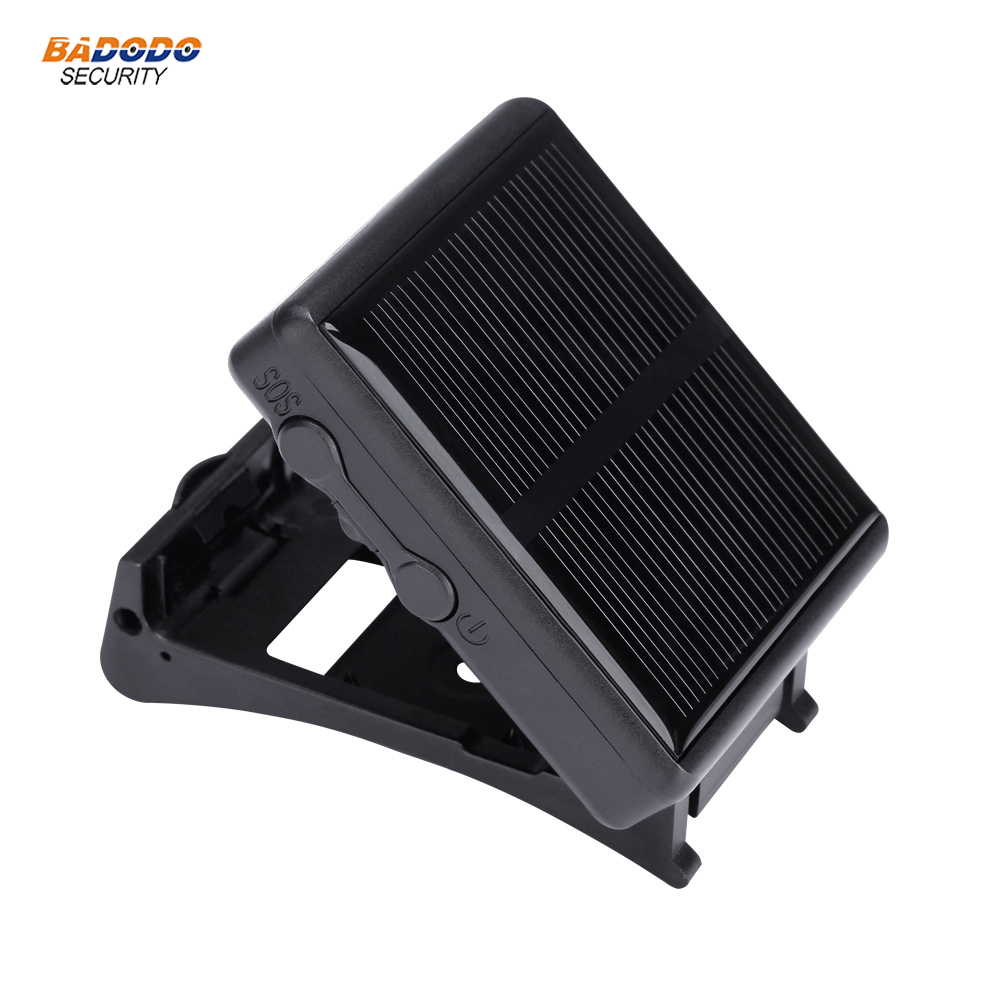 Cattle sheep animal wireless GSM GPRS GPS tracker alarm with solar panel anti lost real time