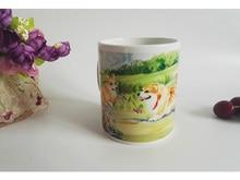 Lovely dogs Sublimation white coffee Mug