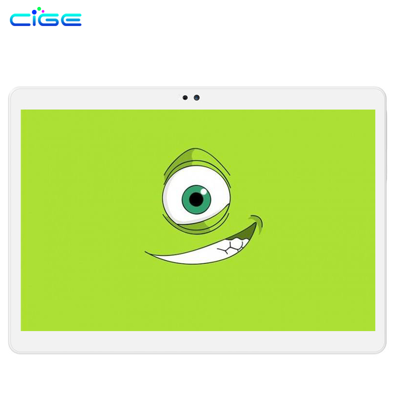 Original CIGE Tablet PC 10.1 inch Octa Core 3G 4G Lte  4GB Rom 64GB Ram 8MP Dual WIFI Dual SIM GPS Bluetooth Tablets created x8s 8 ips octa core android 4 4 3g tablet pc w 1gb ram 16gb rom dual sim uk plug