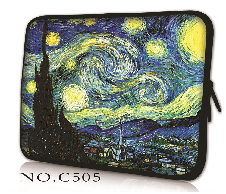 Painting Laptop Sleeve Bag Case Pouch For 10.1 11.6 12 13.3 14 15 15.6 LENOVO IDEAPAD YOGA Macbook Pro HP