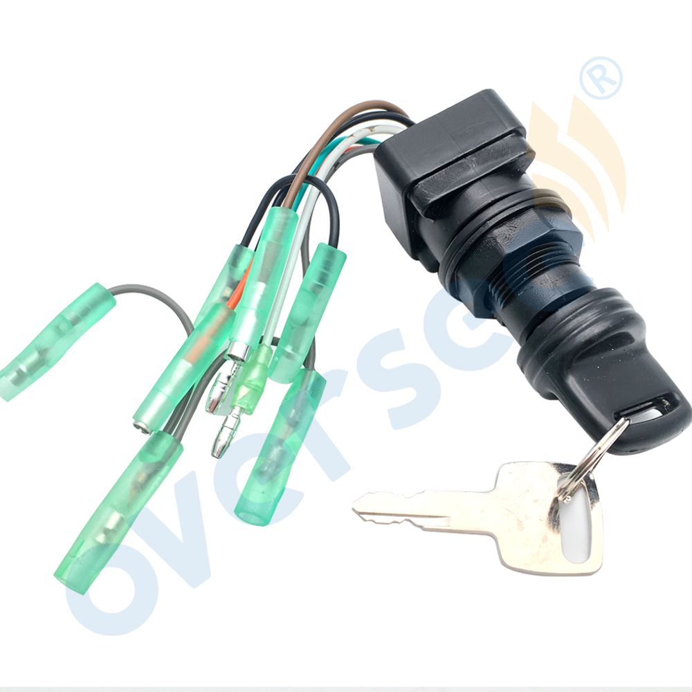 OVERSEE MARINE 37110 92E01 SWITCH IGNITION For Suzuki Outboard Engine Motor pollak 12 705 trailer plug wiring diagram dolgular com pollak marine ignition switch wiring diagram at mifinder.co
