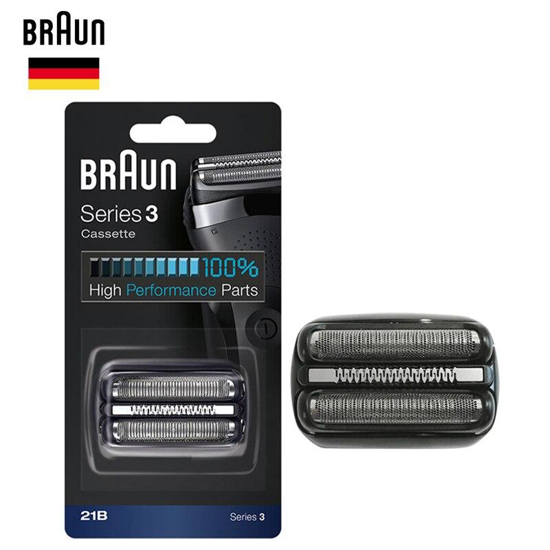 Braun 21B Electric Shaver Replacement Head Razor Blade Series 3 Cassette   H3 ( 300s 301s e9fdd8e44fb