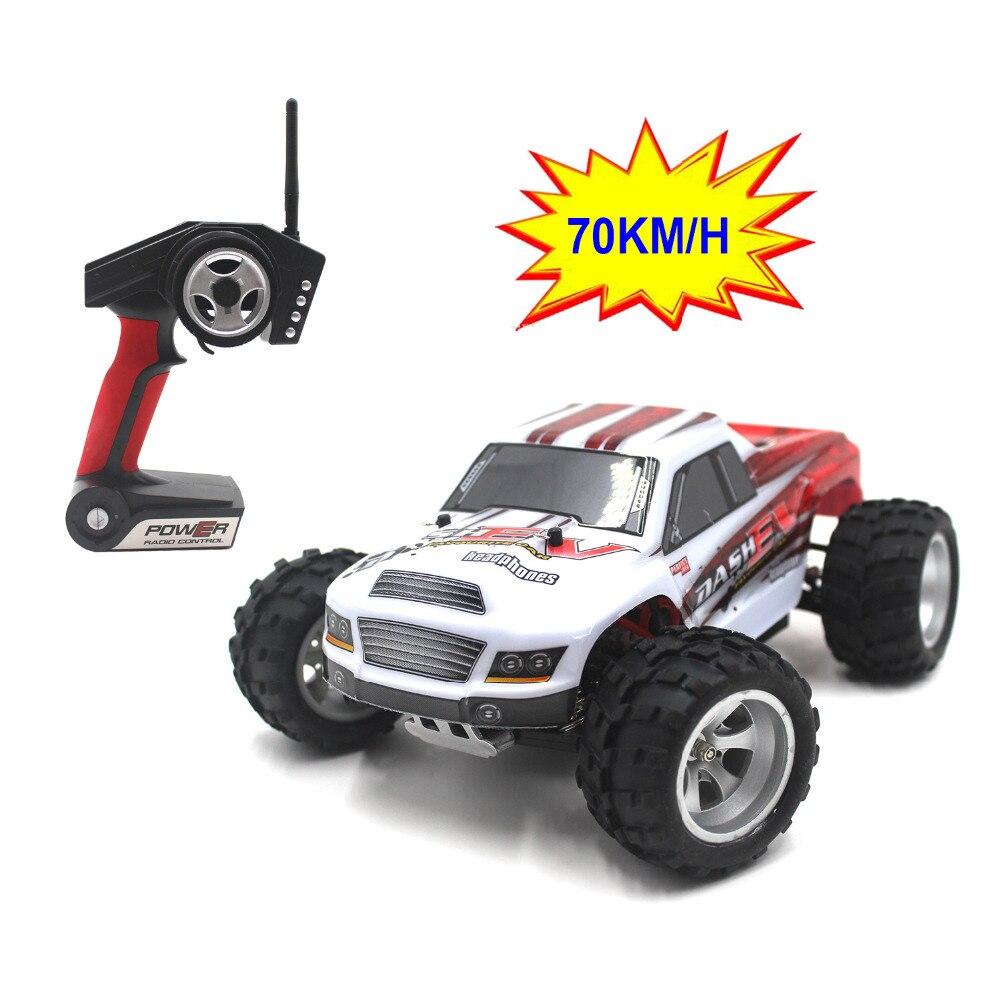 70KM / H, uus saabumine 1:18 4WD RC-auto Wltoys A979-B 2.4G Raadiojuhtimine Kiirveoki RC Buggy maastikul VS JJRC A959 Veoauto