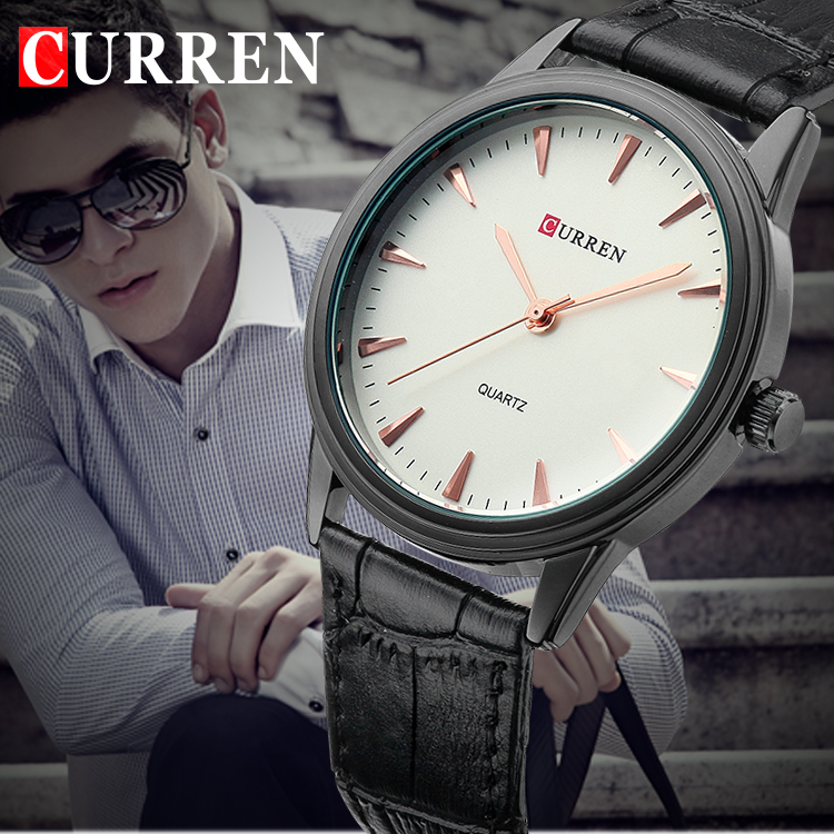 popular watches for skinny wrists buy cheap watches for skinny curren men watch luxury brand genuine leather analog male sports watches quartz ultra thin wrist watch