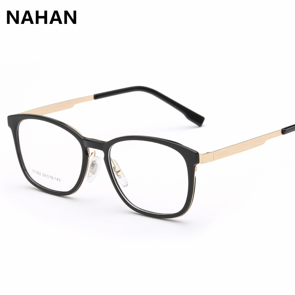 2016 glasses 879a  2016 Fashion Unisex Glasses Frame Stainless Steel Retro Woman Men Reading  Glass Clear Lens Computer Eyewear