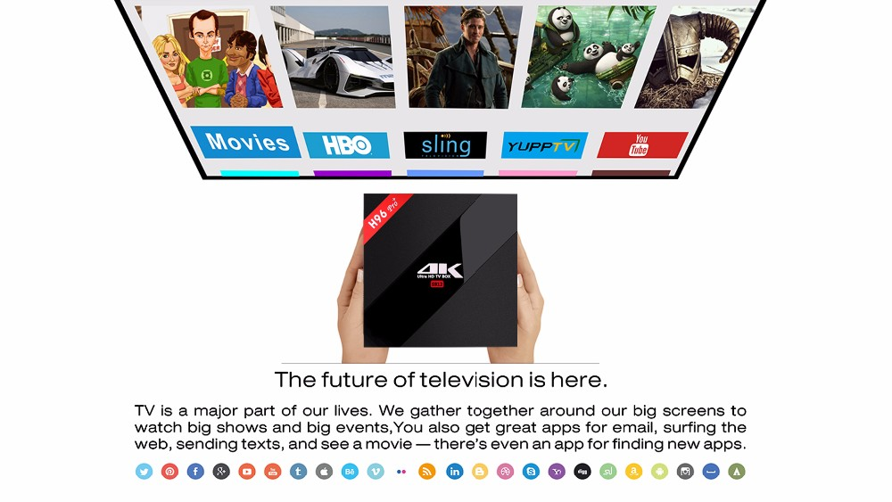H96 pro-S912 android 6.0 marshmallow tv box 3g_32g double wifi