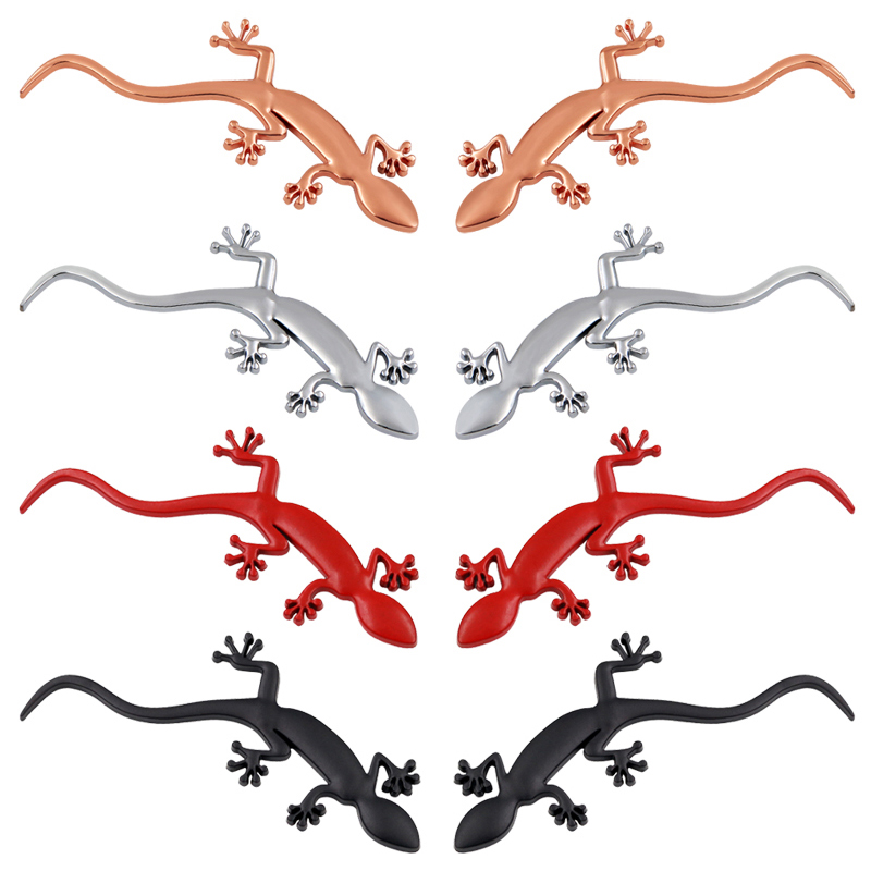 1pcs Car ABS Lizard Gecko Badge Car Styling For Audi A4 A3 A5 Q3 Quattro TT S3 S5 RS3 RS4 Stickers Decorative Car Accessories
