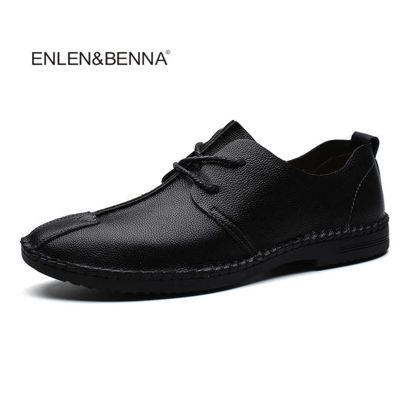 Men Casual Shoes New Arrival Light Flats Shoes Leather Loafers Slip On Mens Flats Driving Shoes Trainers Zapatos Hombre fashion nature leather men casual shoes light breathable flats shoes slip on walking driving loafers zapatos hombre