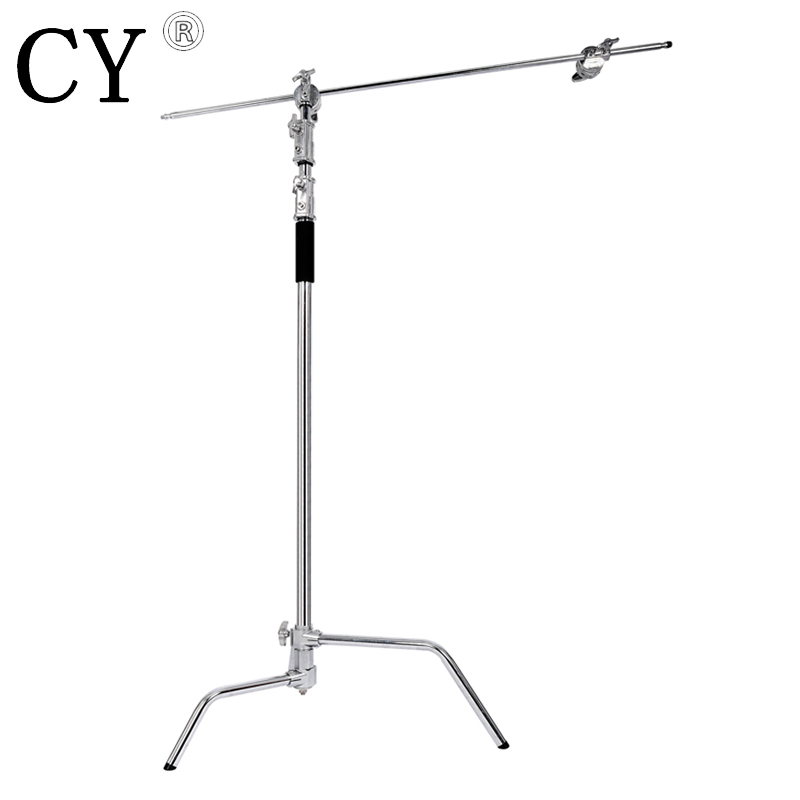 Inno New Steel Large Size Light Stand 3M/40 inch Studio Centry C Stand Detachable Light C-stand +Line Resizer+Grip Arm