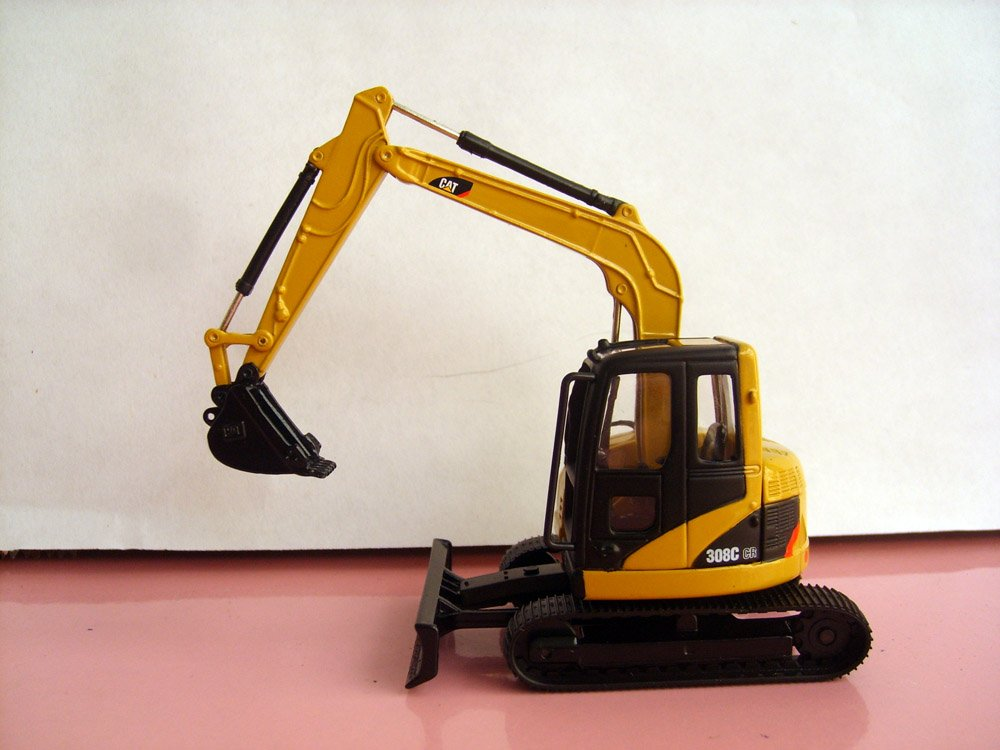 N 55129 1 50 CAT 308C CR Excavator with clear windows