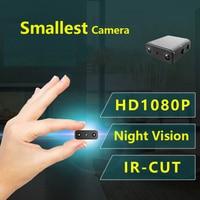 IR CUT Mini Camera Smallest 1080P Full HD Secret Camera Infrared Night Vision Micro Cam Motion Detection DV Support Hidden Card