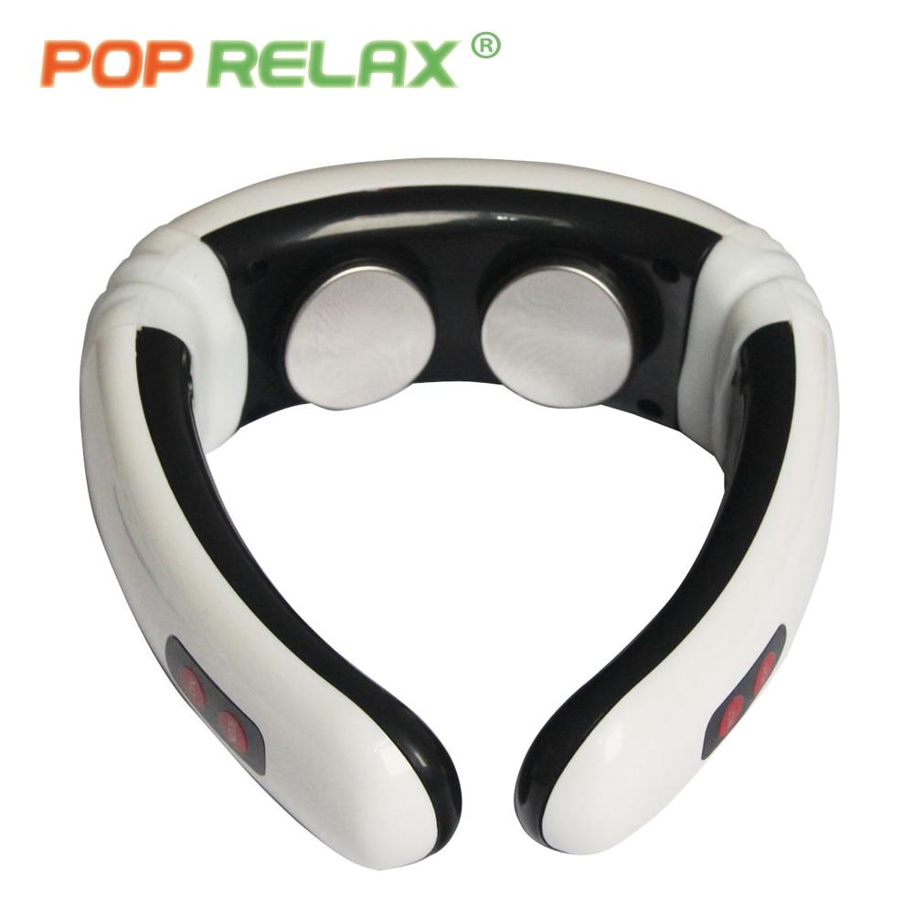 POP RELAX elektrisk nakkemassasjeapparat cervikal massasjeinstrument - Helsevesen - Bilde 6