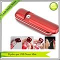 Free Shipping Beauty Salon Hydro Spa Moisturizing Ionic Nano Handy Mist Spray USB Rechargeable