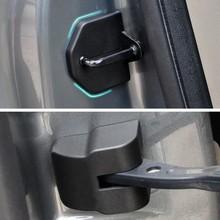 8 шт./компл. Автомобильный Дверной замок с украшением в виде пряжки крышки автомобиля крышки двери фиксаторы уход за кожей лица Защитная крышка для Ford Focus 2 MK2 2005-2013