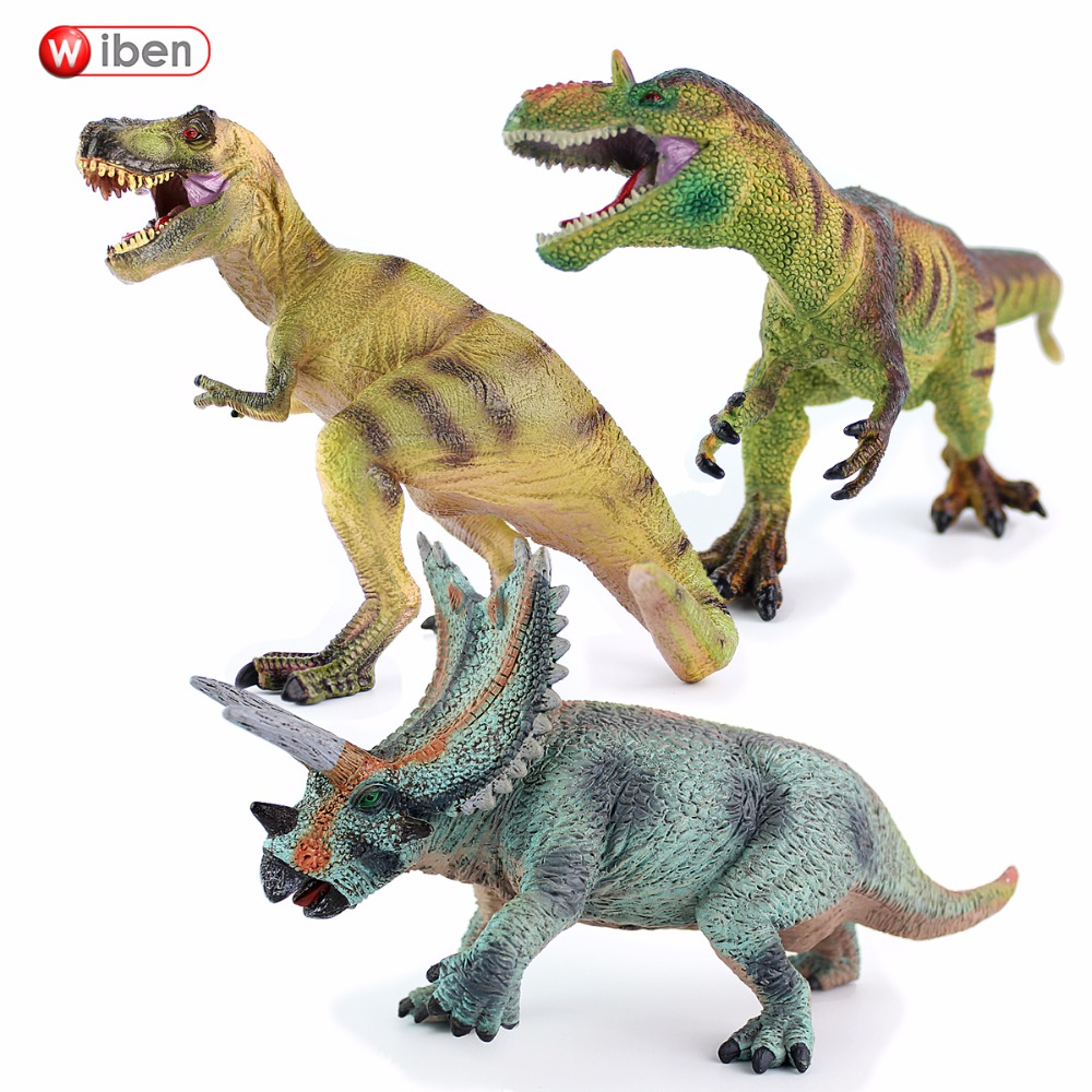 Wiben Jurassic Tyrannosaurus Rex Triceratops Allosaurus ...