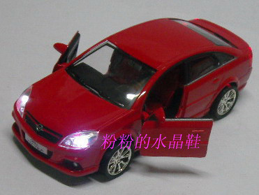 Artificial car model toy car alloy WARRIOR opel red