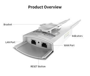 Image 5 - Comfast cf Dual Band 5 Ghz Ad Alta Potenza Outdoor AP 1200 Mbps CF EW72 360 gradi omnidirezionale Copertura Punto di Accesso Wifi Base stazione di