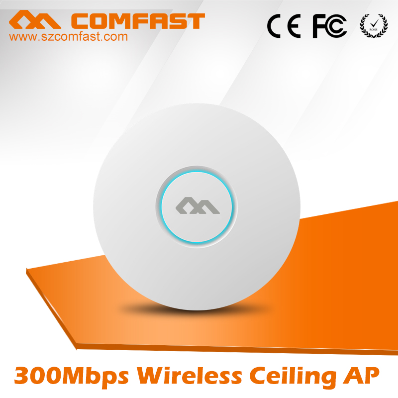 2pcs 300Mbps wireless Ceiling AP QCA9531 chipset Indoor wifi router AP 802.11b/g/n WiFi Access Point AP for wifi signal coverage беспроводной маршрутизатор fast fw150rm ap wifi