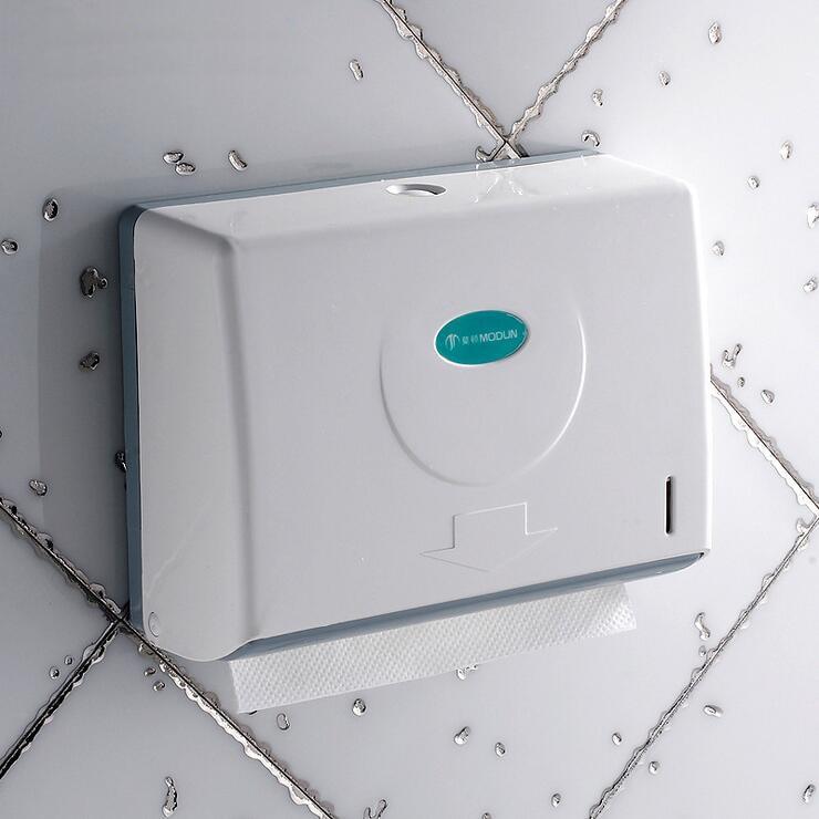 ФОТО ABS Plastic Pull type tissue box holder bathroom paper holders racks wall mounted, Hotel/Kitchen/Toilet waterproof paper holders