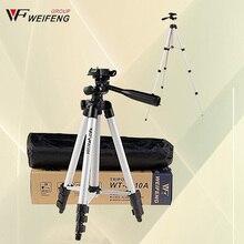 Weifeng wt3110a trípode con 3-way cabeza del trípode universal trípode de cámara para canon nikon sony pentax dslr d90 d7100 d3100 wt-3110a