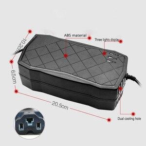 Image 4 - 48В 50ач зарядное устройство смарт свинцово кислотный SLA гель Электрический велосипед автомобильный Скутер зарядное устройство DC59V 6A для аккумуляторной батареи 48В 60ач 50ач 40ач