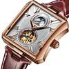 Swiss Automatic Mechanical Watch Men Sapphire Binger Luxury Brand Waterproof Watches Male Tourbillon Wrist Watch Clock