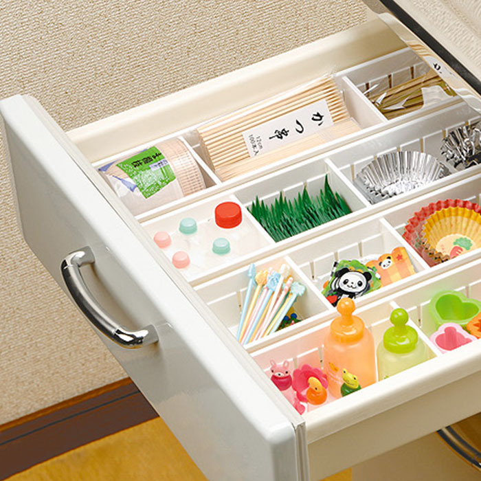 An Style Plastic Kitchen Cabinet Drawer Cutlery Fork Knife Storage Case Bathroom Cosmetic Organizer Box Home In Bo Bins From